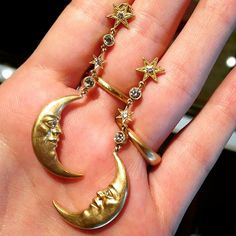 Crescent Moon earrings shared by @liz_kantner. It's good to be back home, but we're missing all of the action at @by_couture. Until next year...