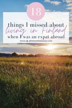There's nothing quite like experiencing the big big world through travel and living abroad. But sometimes you just really miss home! Here are the things I missed about my life in Finland, my hometown, while I was an expat for nearly 8 years! Travel Advice, Travel Guides, Finnish Women, Big Big, Business Pages, Helsinki, I Missed, Day Trips, Finland