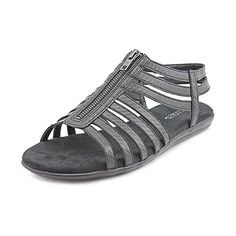 Aerosoles Womens Chlothesline Huarache SandalBlack Lizard6 M US *** Click on the image for additional details.