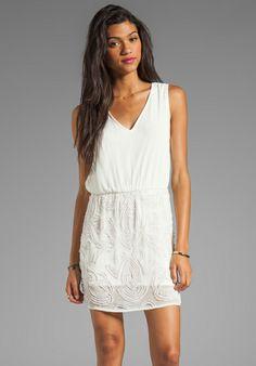 YUMI KIM Penelope Dress in Ivory - Dresses