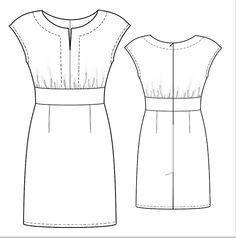 patron couture robe gratuit imprimer 9