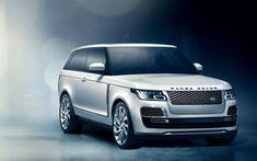 Télécharger fonds d'écran Range Rover SV Coupé, 2018 voitures, véhicules utilitaires sport, Land Rover, studio, Range Rover