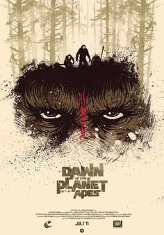 Dawn of the Planet of the Apes film poster