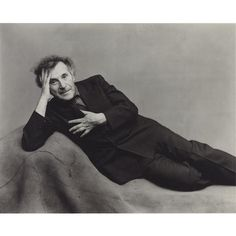 Marc Chagall..Photographer: Irving Penn.  Penn (16 June 1917—7 October 2009) was an American photographer most known for his fashion photography, portraits, and still lifes. His career included work at Vogue magazine, and independent advertising work for clients including Issey Miyake, and Clinique. His work has been exhibited internationally, and continues to inform the art of photography, even after his death.