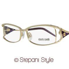 Roberto Cavalli Eyeglasses RC622 Escolzia 028 Size 54 Rose Gold Violet 622 | eBay