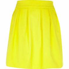 A fashion look from May 2014 featuring crop tops, yellow skirt and yellow shoes. Browse and shop related looks. Summer Skirts, Mini Skirts, River Island Fashion, Bridesmaid Skirts, Fashion Beauty, Fashion Looks, Tube Skirt, Yellow Shoes, Beautiful Outfits