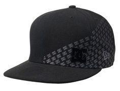 DC SHOES Mens Meme New Era 59Fifty Hat with Flat Brim NWT #DCShoes #WideBrim