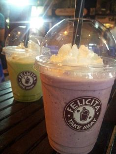 Blueberry, Matcha [ FELICITA COFFEE ]