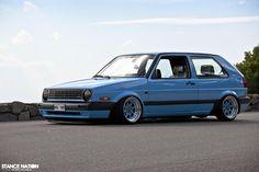 Golf MK2 - nice colour.