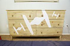 DIY Star Wars Dresser