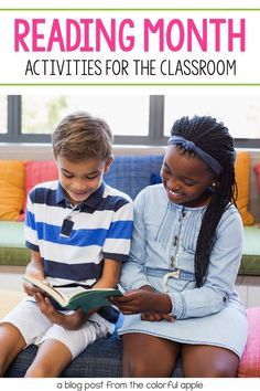 We celebrate reading all year, but here are some fun reading month activities for March! A great way to switch things up in your classroom. Comprehension Activities, Reading Strategies, Reading Activities, Reading Skills, Fun Activities, Kindergarten Reading, Preschool Kindergarten, Teaching Reading, School Community