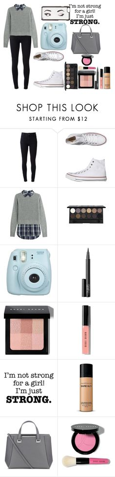 """""""OOTD #31"""" by amyjayneholls ❤ liked on Polyvore featuring STELLA McCARTNEY, Converse, Veronica Beard, NARS Cosmetics, Bobbi Brown Cosmetics, Bare Escentuals, Jimmy Choo and Kate Spade"""