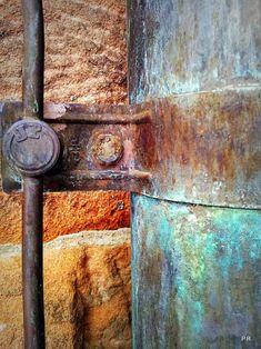 Rust by Petra Riha Rust Never Sleeps, Peeling Paint, Rusty Metal, Rust Color, Texture Art, Abstract Photography, Art Plastique, Textures Patterns, Metal Art