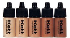 KETT - HYDRO OLIVE TRIAL PACK - 5 SHADES 7ML SIZES Available online or in store at CMC Makeup Store Dallas - cmcmakeupstore.com