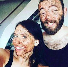 MARK face and body - prírodná slovenská kozmetika Coffee Scrub, Organic Coconut Oil, Dead Skin, Cleanses, Sea Salt, Face And Body, Brown Sugar, Your Skin, Scrubs