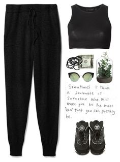 """- Black Cofee -"" by lolgenie ❤ liked on Polyvore featuring Theory, Chanel, Calvin Klein Collection, Cheap Monday, H&M, polyvorecommunity, polyvoreeditorial and Lolgenie"