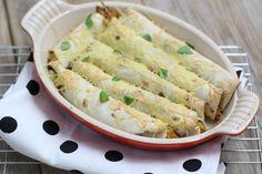 Kip-pesto wraps uit de oven