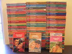 HUGE Lot of 111 VINTAGE Harlequin Romances LISTED!! (06/21/2010)