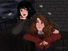 Harry Potter Fan Art, Memes Do Harry Potter, Magia Harry Potter, Harry Potter Couples, Harry Potter Ships, Harry Potter World, Drarry, Hogwarts, Slytherin