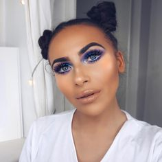 Girl Tips, Makeup Art, Makeup Inspiration, Makeup Looks, Halloween Face Makeup, Hair Beauty, Make Up, Hair Styles, Blogger Girl