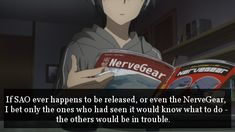 Yeah. Even if we had seen/read it, some of us would still be screwed.----I would play it anyway