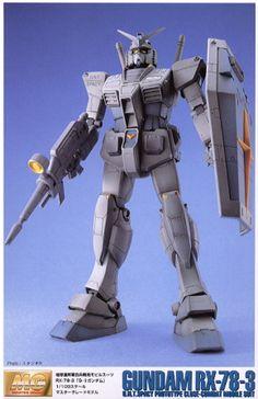 [close] RX-78-3 G-3 Gundam (MG) (Gundam Model Kits) Item picture1