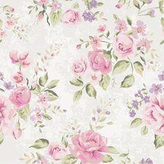 Papel de Parede Autocolante Floral Rosas 160533275