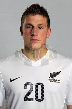 Chris Wood, The New Zealand All Whites, FIFA World Cup 2010 headshots, Sky City, Auckland. 20 May 2010. Photo: Andrew Cornaga/PHOTOSPORT   #FREE FOR EDITORIAL USE#