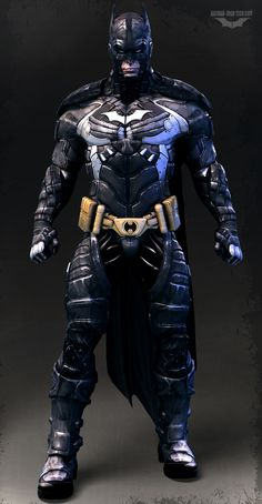 Batman-high tech suit