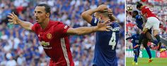 Manchester United 2-1 Leicester City: FA Cup winners secure Community Shield as Zlatan