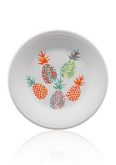 Fiesta® 'Pineapple' 9 inch Luncheon Plate made by Homer Laughlin China Company exclusively for Belk Department Stores | Belk