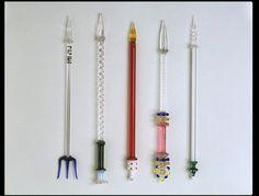 Glass Pens, England, 19th Century