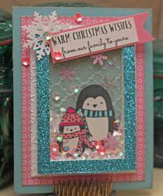 CTMH Season's Greetings, Shaker, Paper Fundamentals, Paper Sweeties Snowflake Sequins