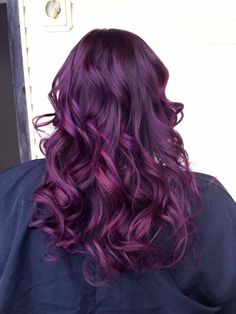 Violine Cheveux pour coloration cheveux violet - fashion designs