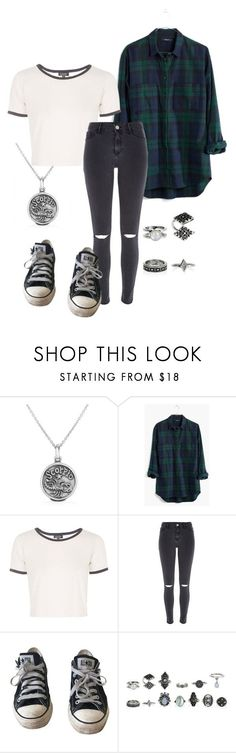I'm A Scorpio ♡ by inesaggoune on Polyvore featuring mode, Madewell, Topshop, River Island, Converse and Bling Jewelry
