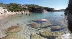 Campulittu Beach, Bosa, north west Sardinia. Spiaggia di Cumpultittu a Bosa nel nord ovest della Sardegna