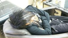 majichigo:  From Teruki's Twitter. I laughed a bit because he wrote something about Kanon talking in his sleep about Budokan. XD They're certainly looking forward to play there again. :D And look at how cute Kanon is when he's asleep. :3  Seriously, my heart just exploded! So kawaii!!!!!!!!!!!!!!
