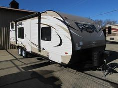 2016 New Forest River Wildwood X-Lite 261BHXL Travel Trailer in New York NY.Recreational Vehicle, rv, Front Queen, Rear Single Over Double Bunks, Sofa, Dinette, Stereo, Power Jacks, Power Awning with Colored LED's, Remote Control, Skylight, Loaded!