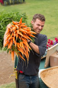 Farm & Garden | Esalen-- has a link to videos, and... I just like this picture.