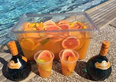 Tropical Jungle Juice - For more delicious recipes and drinks, visit us here: www.tipsybartender.com