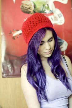 Puff Stitch Hat #howto #tutorial