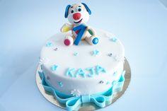 Interaktywny szczeniaczek na torcie (ukochana zabawka Jubilatki) Birthday Cake, Desserts, Tailgate Desserts, Deserts, Birthday Cakes, Postres, Dessert, Cake Birthday, Plated Desserts