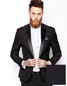 Dorian  ASOS Slim Fit Tuxedo Suit Jacket