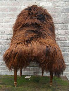 Medium Genuine Icelandic Sheepskin Real Sheepskin Sheep Fur Rug in Copper Brown #followitfindit
