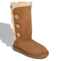 UGG® Australia 'Bailey Button Triplet' Boot (Little Kid & Big Kid) available at