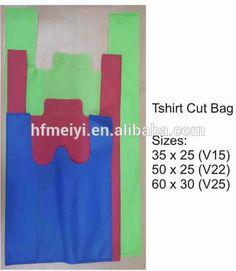 9606474705 Factory supply 30gsm Kenya non-woven T-shirt bag and non woven vest shopping