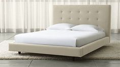 Tate Tall Upholstered Bed