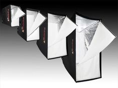 softboxes in different sizes