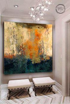 Abstract Canvas Wall Art, Large Canvas Art, Oil Painting Abstract, Large Painting, Large Canvas Paintings, Black Painting, Abstract Art For Sale, Grand Art Mural, Arte Van Gogh