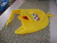 Crochet: Big Bird, Sesame Street - My original pattern